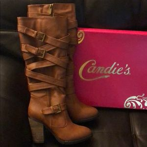 Candies heeled boots